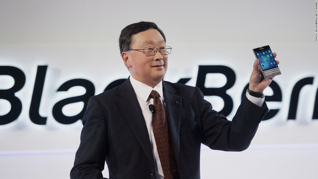 Blackberry CEO: 'We upgraded everything'