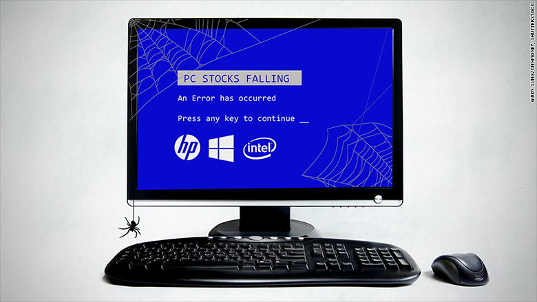 pc stocks down