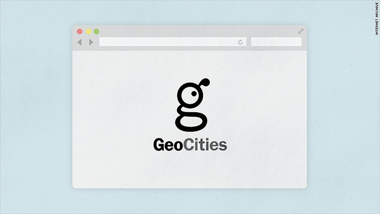 dotcom geocities