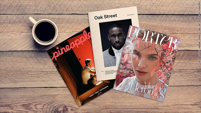 startup print magazines