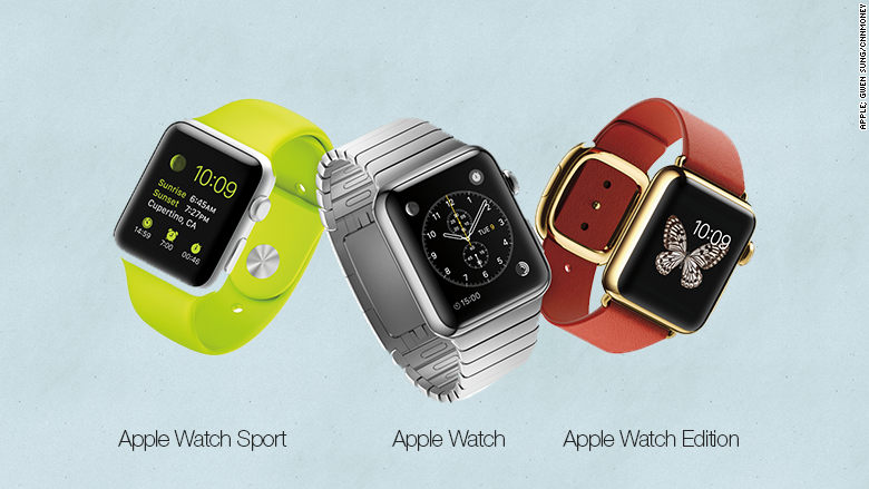 apple watch known models