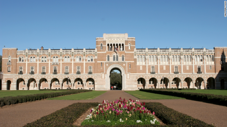Rice University Private colleges with the biggest payoff CNNMoney