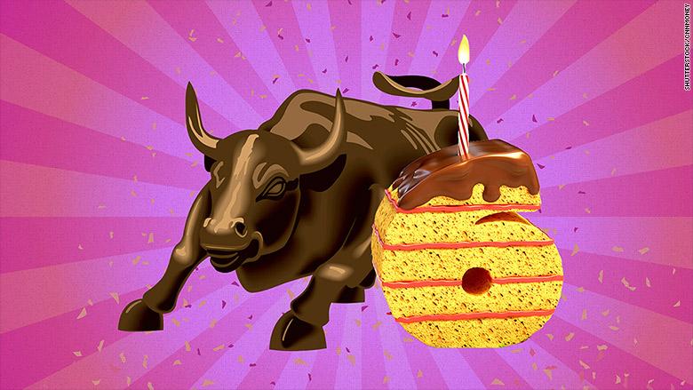 bull market 6 years