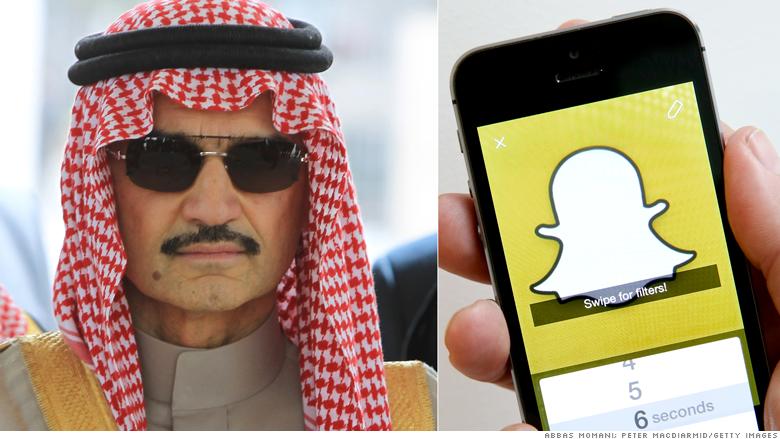Resultado de imagen para Alwaleed bin Talal snapchat