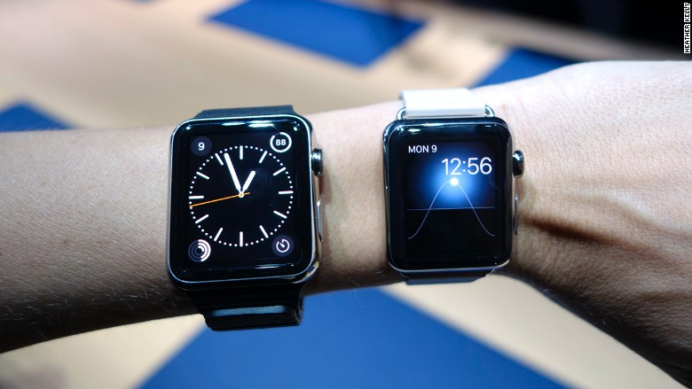 apple watches hands on