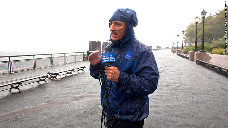 weather channel cantore
