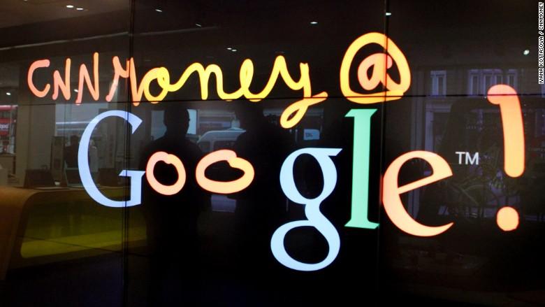 london google shop window cnnmoney