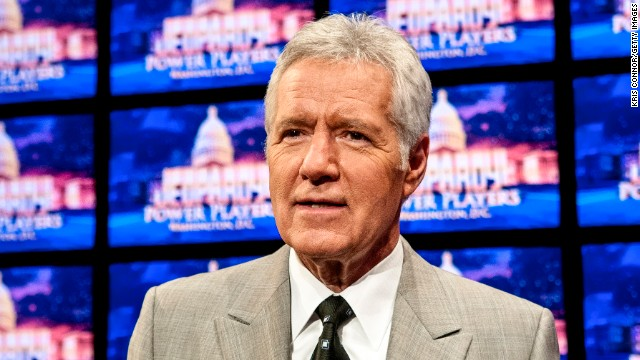 Jeopardy! question: What did Alex Trebek just sign?
