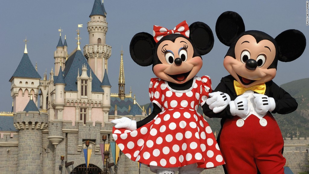 The magical world of Disney's stock