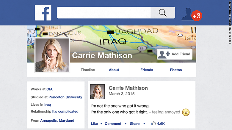 cia facebook profile
