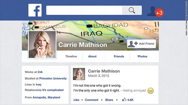 cia facebook profile