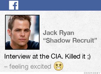 cia facebook facebook status