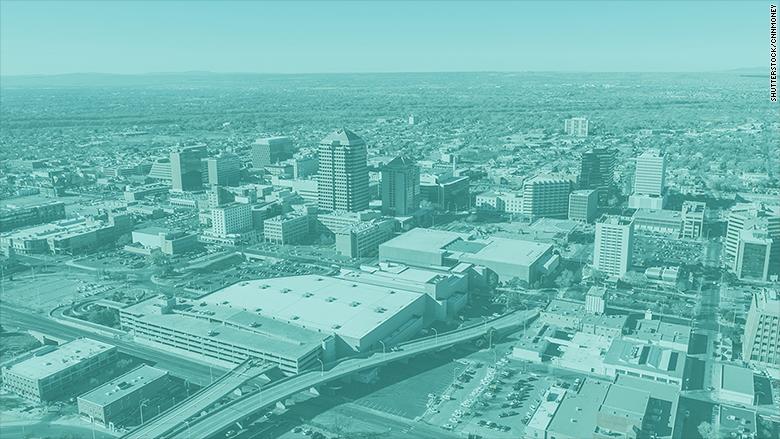 cities highest rent albuquerque