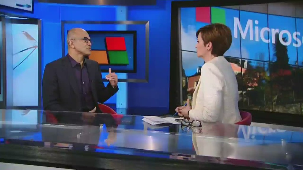 Satya Nadella on Microsoft's future