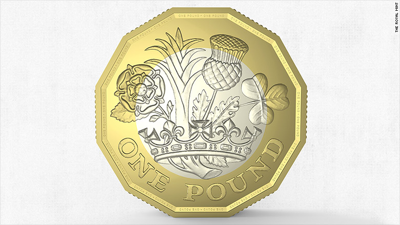 New British 1 Coin Designed By A Teenager