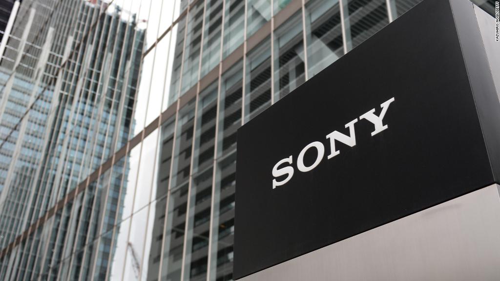 Sony surges. Take that, North Korea!