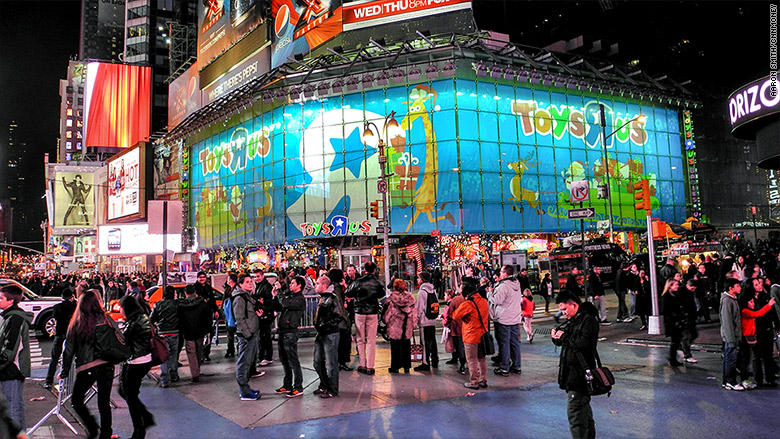 Toys R Us Times Square : Flagship toys r us store in times square is closing