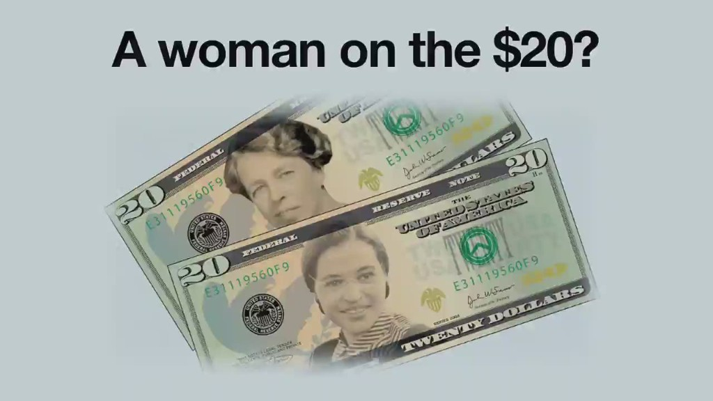 When will a woman be on the $20 bill?