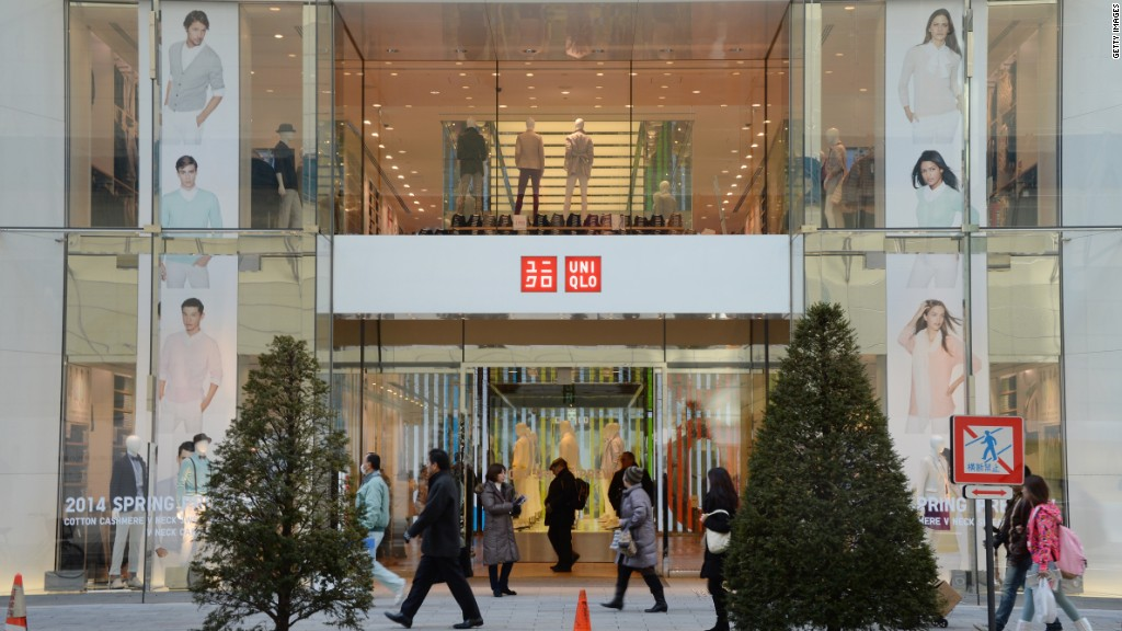 Uniqlo CEO: 'We want to be number one'