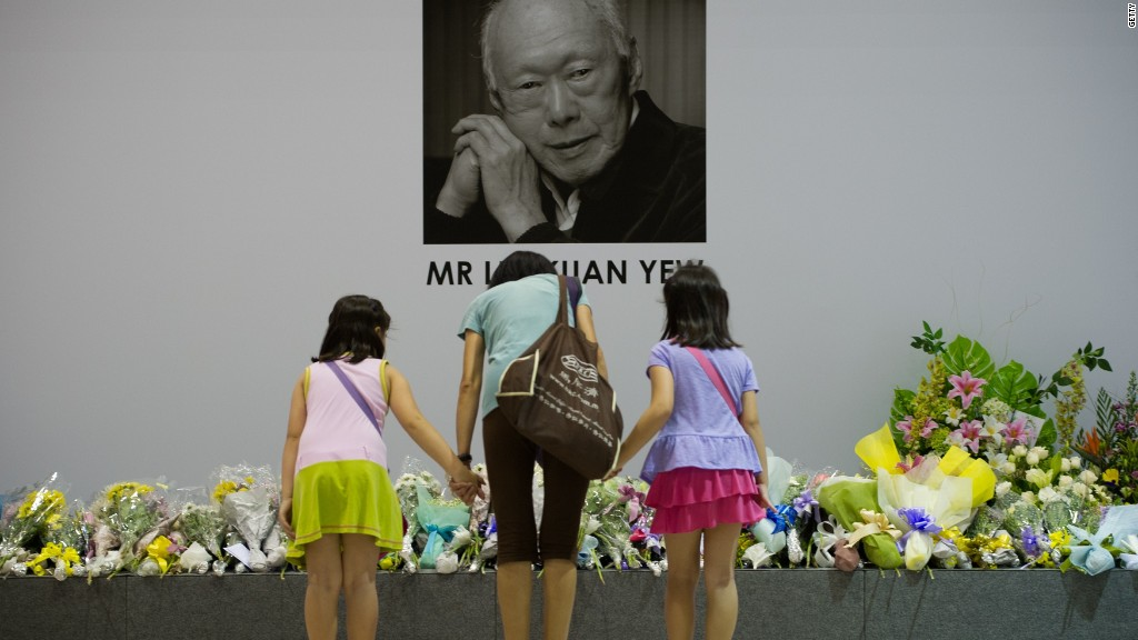 Lee Kuan Yew's legacy: A blueprint for China