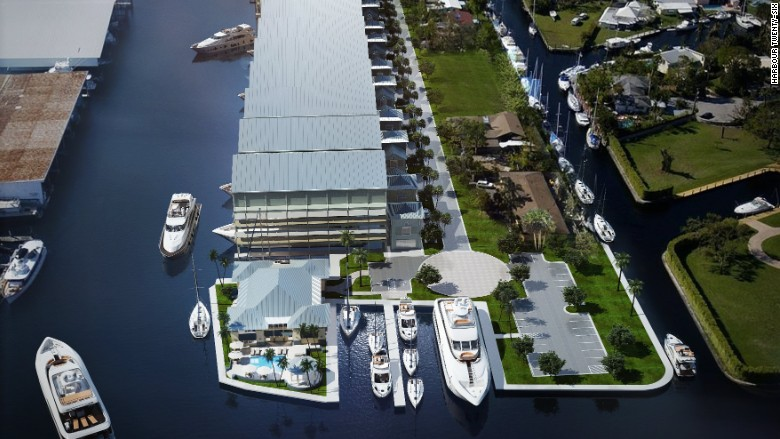 $3 million yacht parking spot