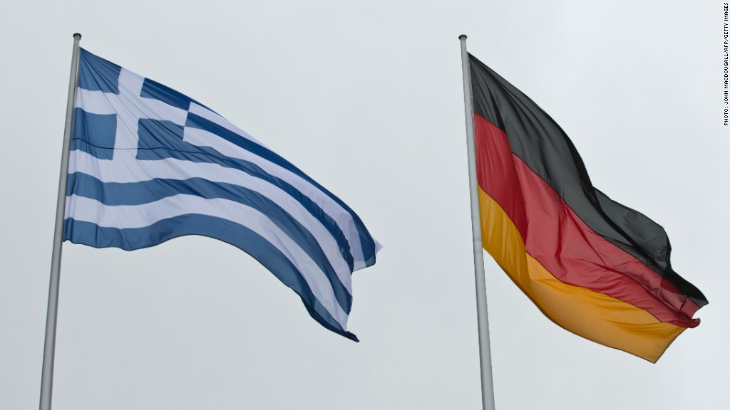 Greece wants Germany to pay up for war damages