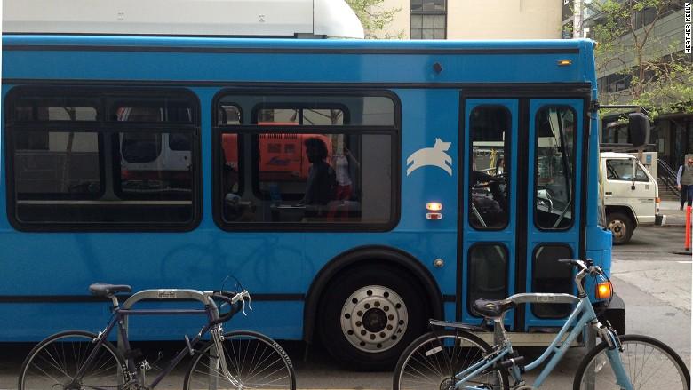 Leap bus exterior