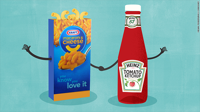 heinz and kraft merge