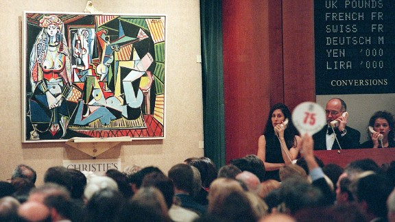 Picasso painting sells for a record $179 million