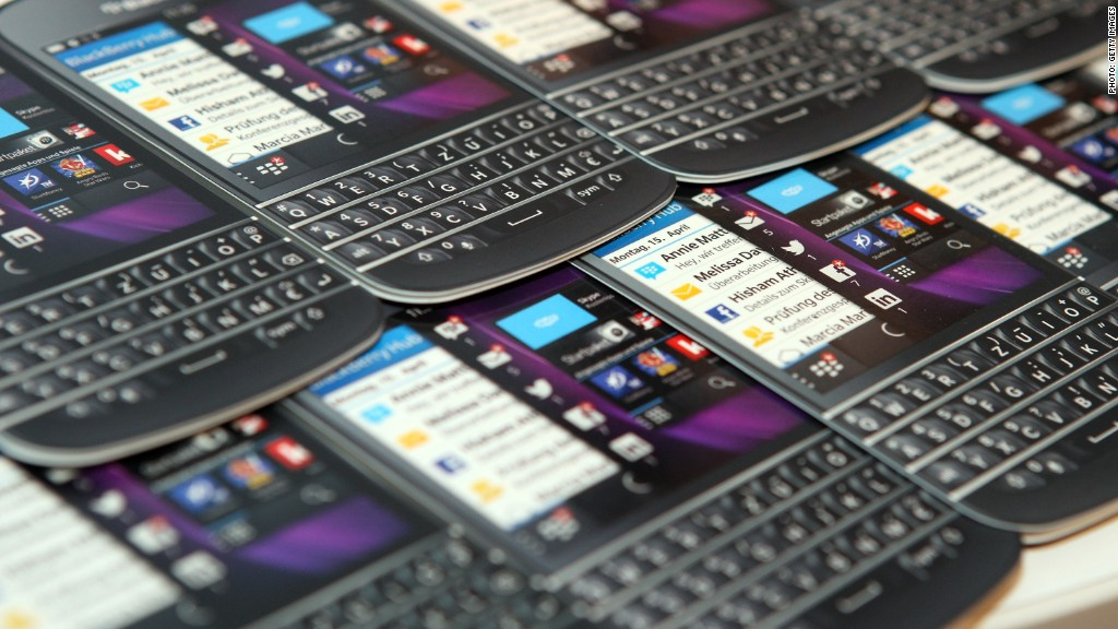 BlackBerry back on track?