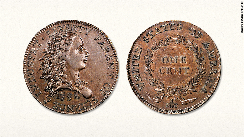 First Us Penny Sold For 12 Million