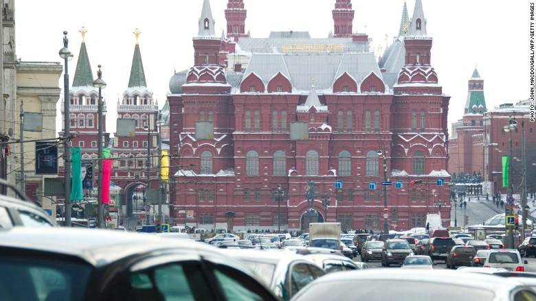 traffic moscow