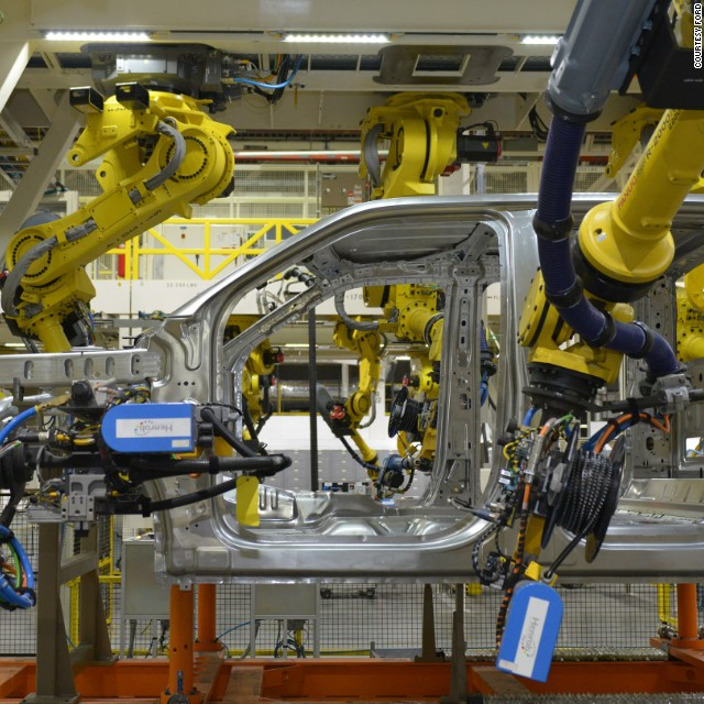 Rise of the robots: The evolution of Ford's assembly line