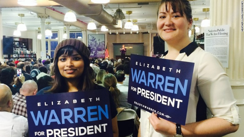 Elizabeth Warren event March 30