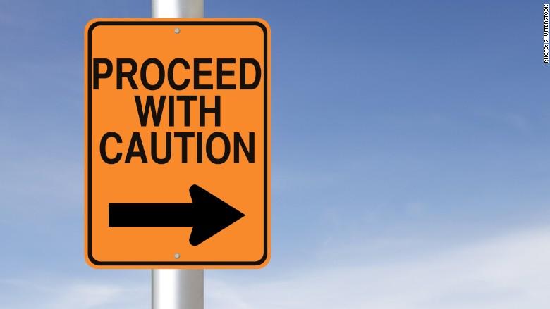 caution investing