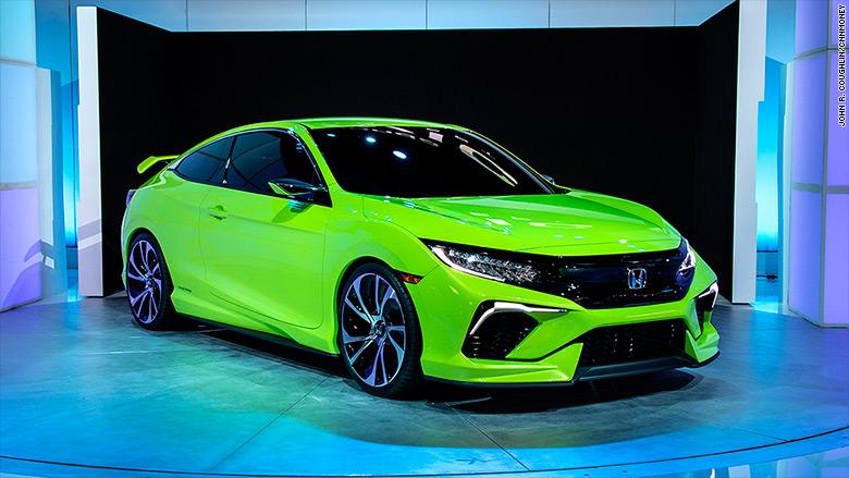 ny auto show honda civic concept
