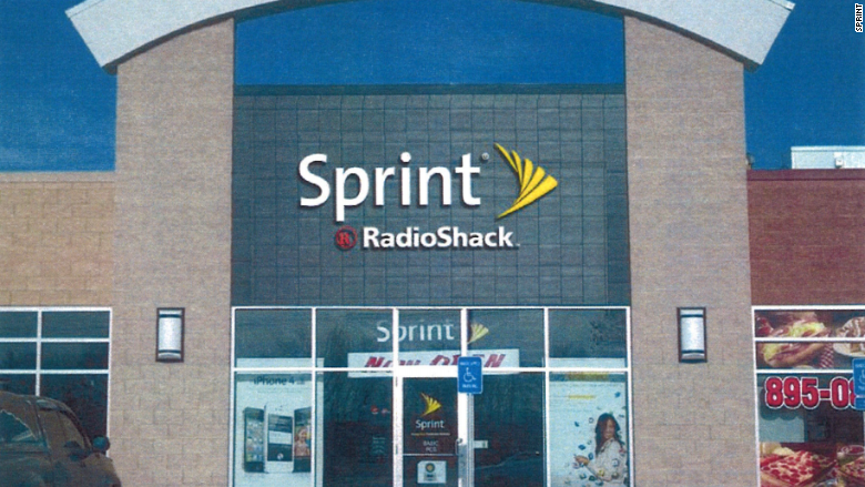 radioshack exterior