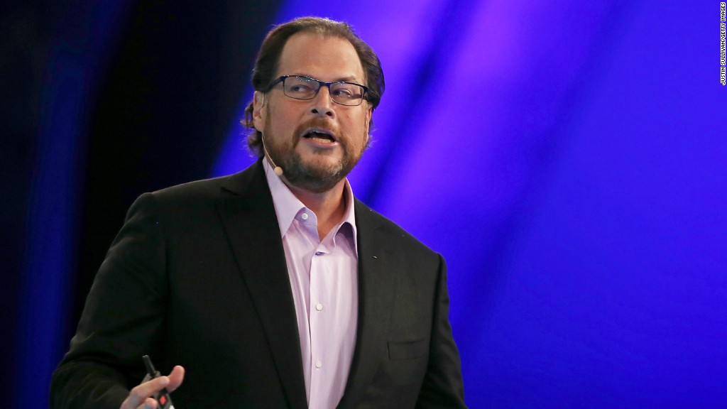Salesforce CEO: Some workers want to leave Indiana