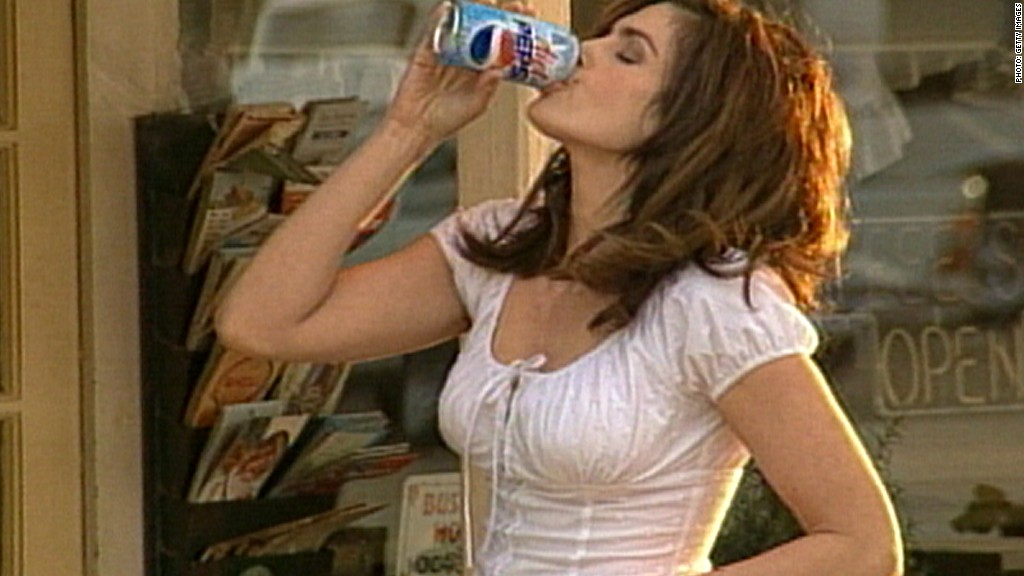 Pepsi ads through the years