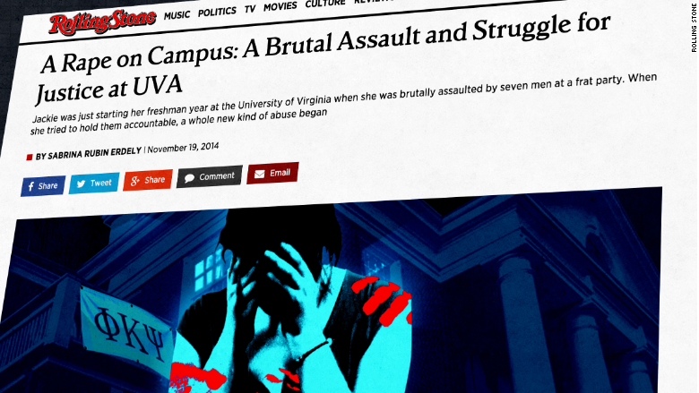 rolling stone rape article