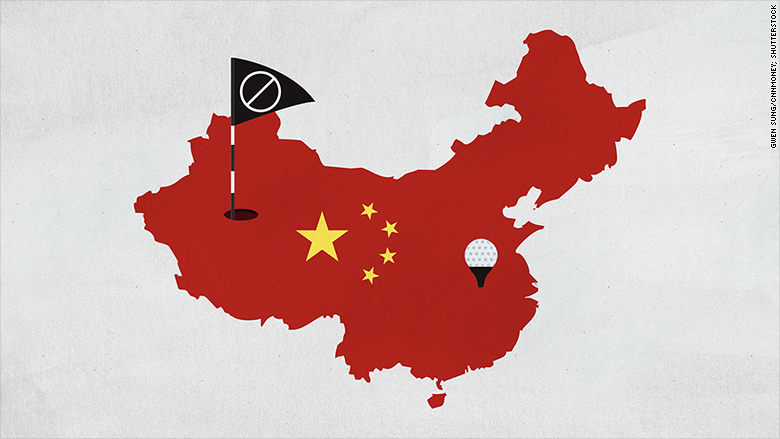 china golf restrictions