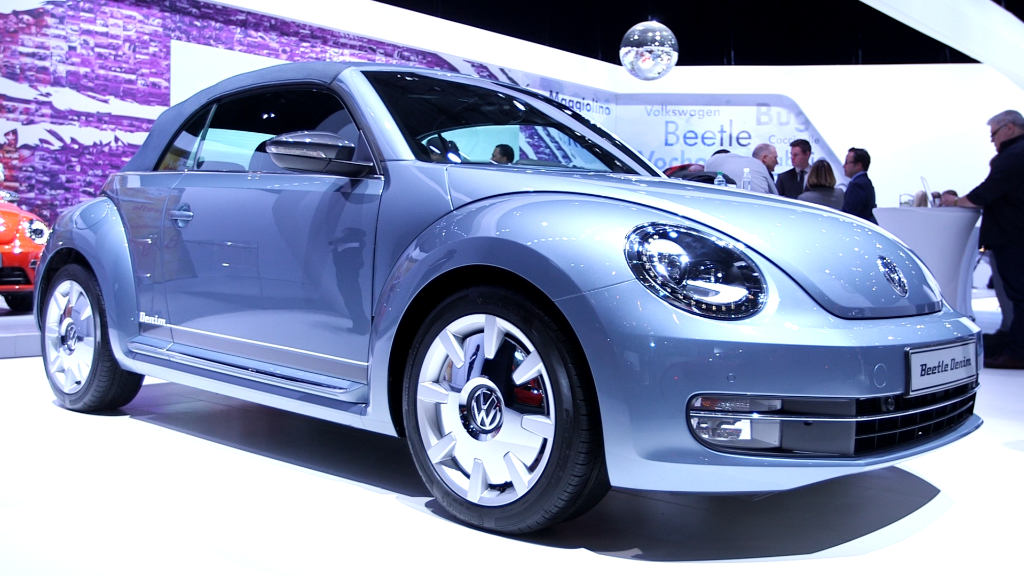 Volkswagen is making a denim Beetle?