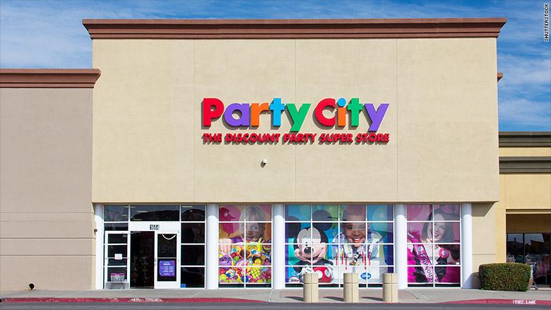 party city exterior