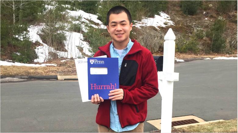 college acceptance austin zhu