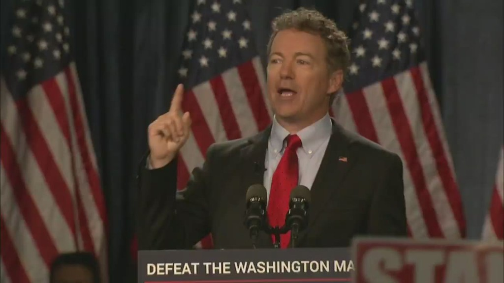 Rand Paul launches 2016 presidential bid