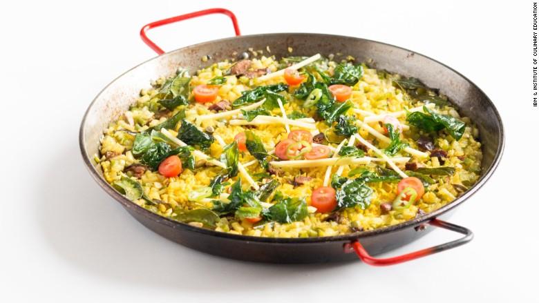 ibm watson cookbook paella