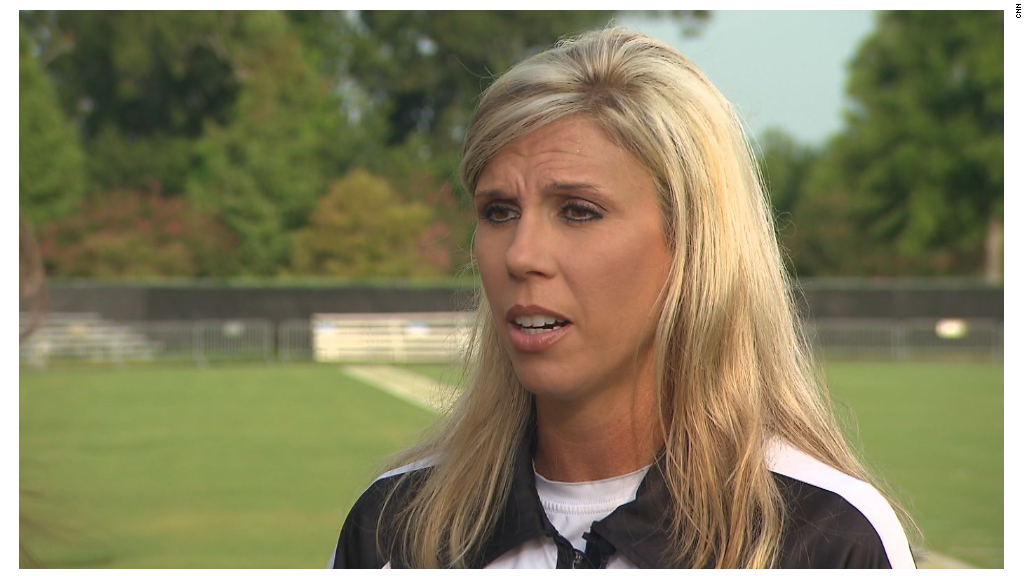 NFL's 1st female ref once told CNN: 'I want to go unnoticed'