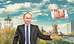 Whoa. The Russian ruble is having a 'miracle' surge