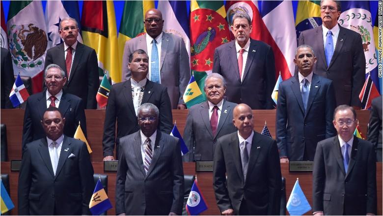 obama castro summit