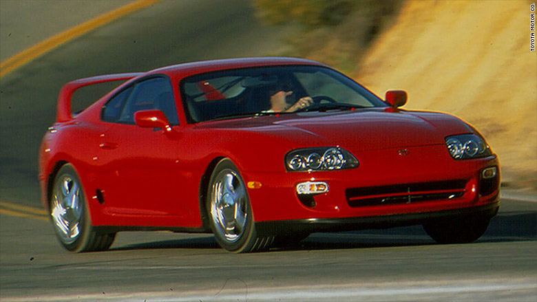1993 - 1998 Toyota Supra Turbo - Up-and-coming collectible cars ...